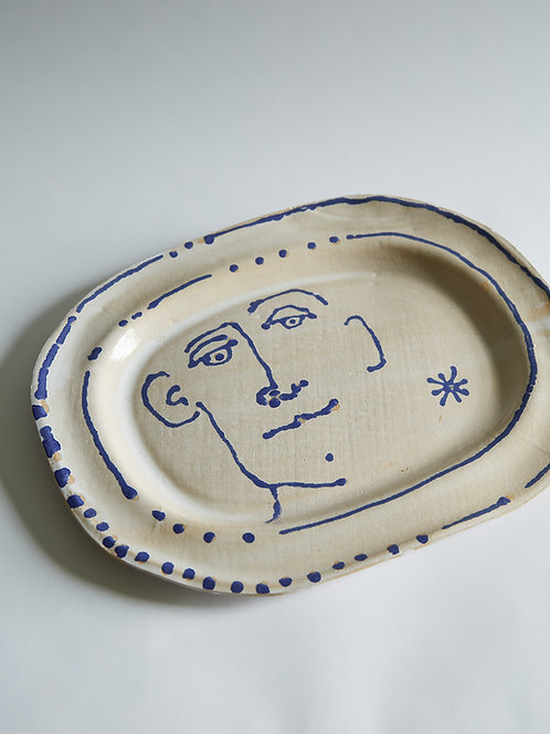 new Blue Dot Boy platter