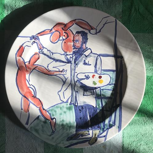 Henri Matisse large plate