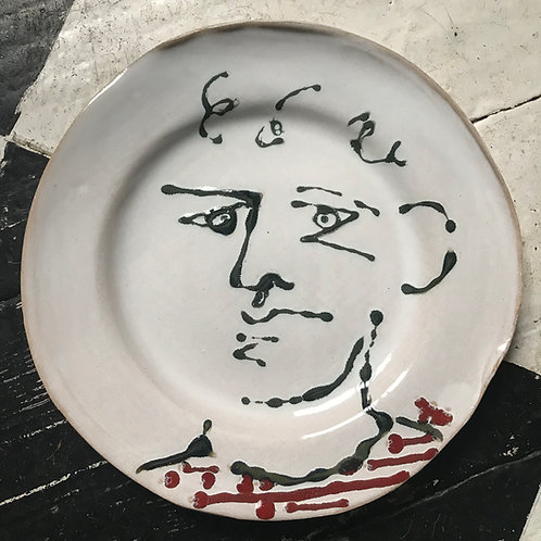 Louis from France plate