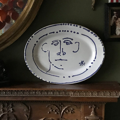 Blue Boy Dot Platter II