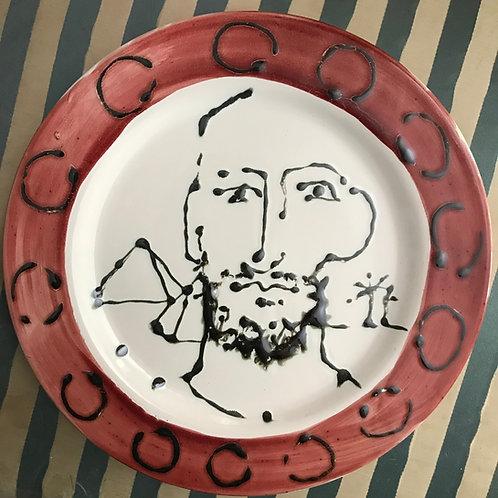 Egyptian chap plate