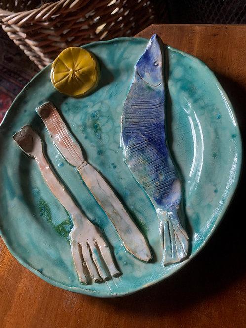 Fishy on a dishy