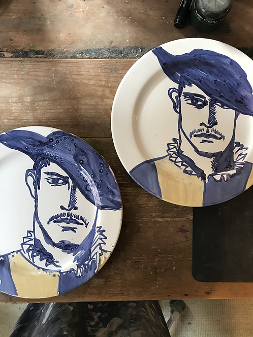 Marco the Vantican Guard plate