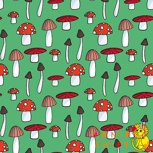 Mushroom - Non-Exclusive Seamless Design