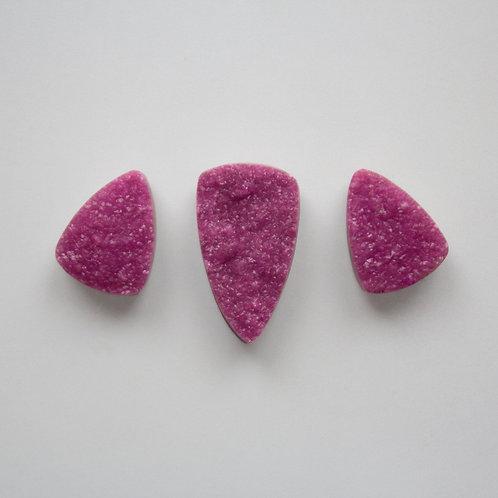 Cobaltocalcite Drusy Set
