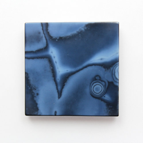 Abstract Onyx Square