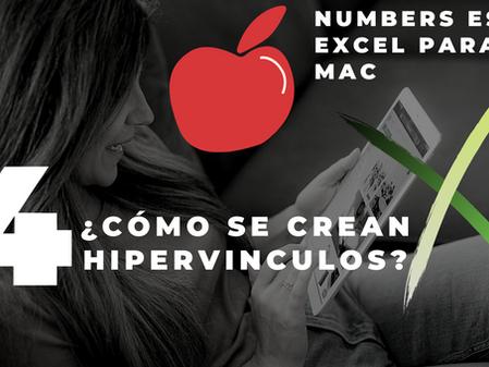 Numbers para MAC|Excel en MAC| ¿Cómo crear hipervínculos en numbers?