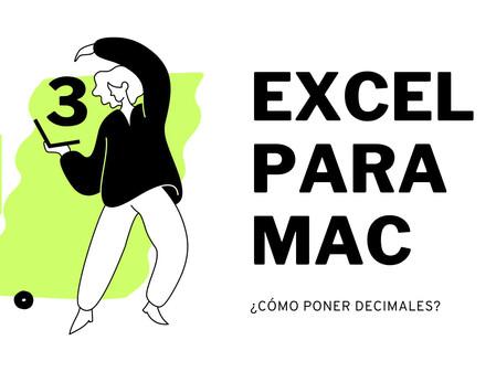 Excel para MAC | NUMBERS MAC TUTORIAL ESPAÑOL | PONER FORMATOS EN MAC y vista desde CERO