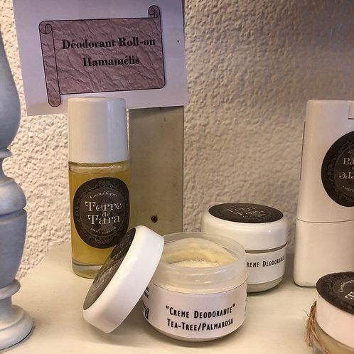 "Déodorant crème ""Palmarosa"" - 50 ml"