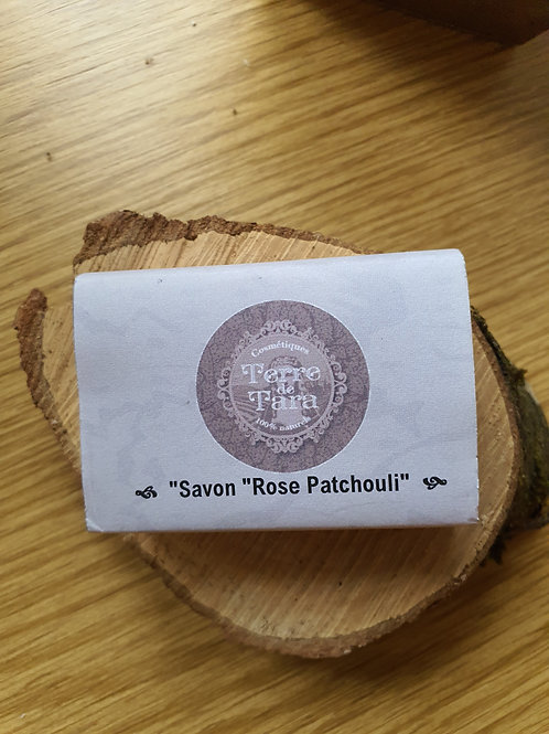 "Savon ""Rose patchouli"""