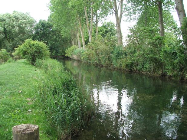 Photo parcours de pêche des fontaines canaux