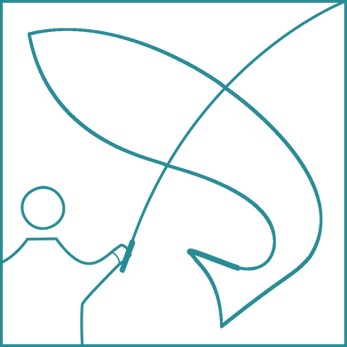 Logo parcours de pêche des fontaines