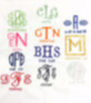 fonts styles for monogram