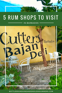 5 Rum Shops To Visit In Barbados