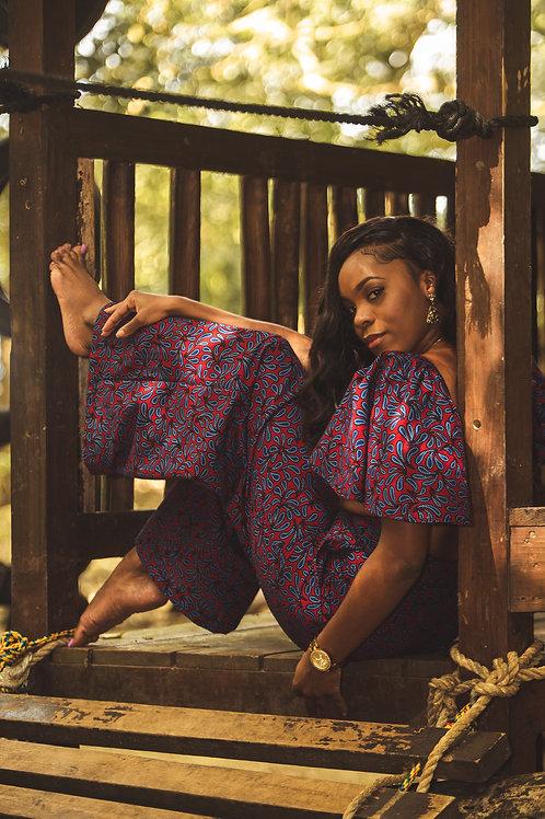 YEMI African Print Pants