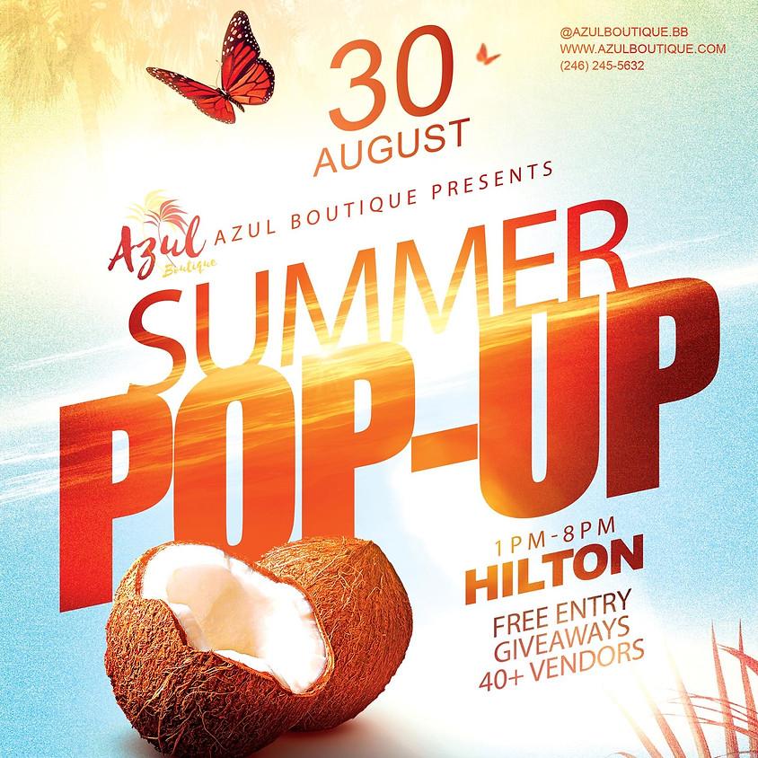 The Summer Pop Up Shop