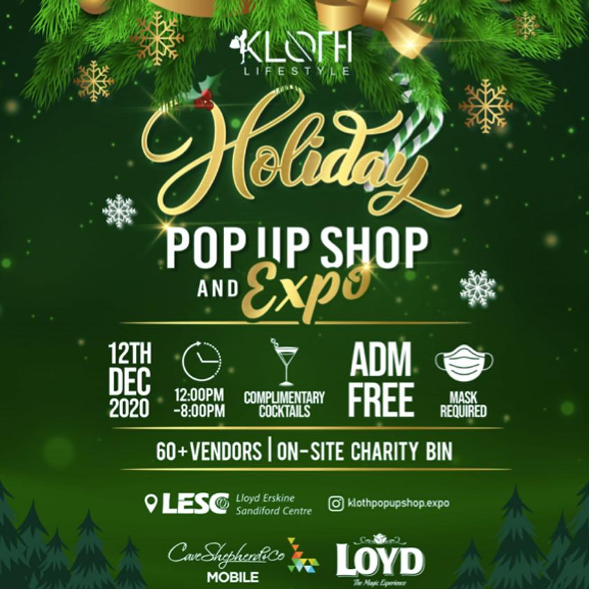 KLOTH Holiday Pop-Up Shop & Expo