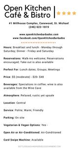 Open Kitchen Café & Bistro1