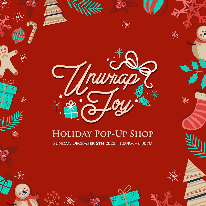 The Dwellings 'Unwrap Joy' Holiday Pop-Up Shop