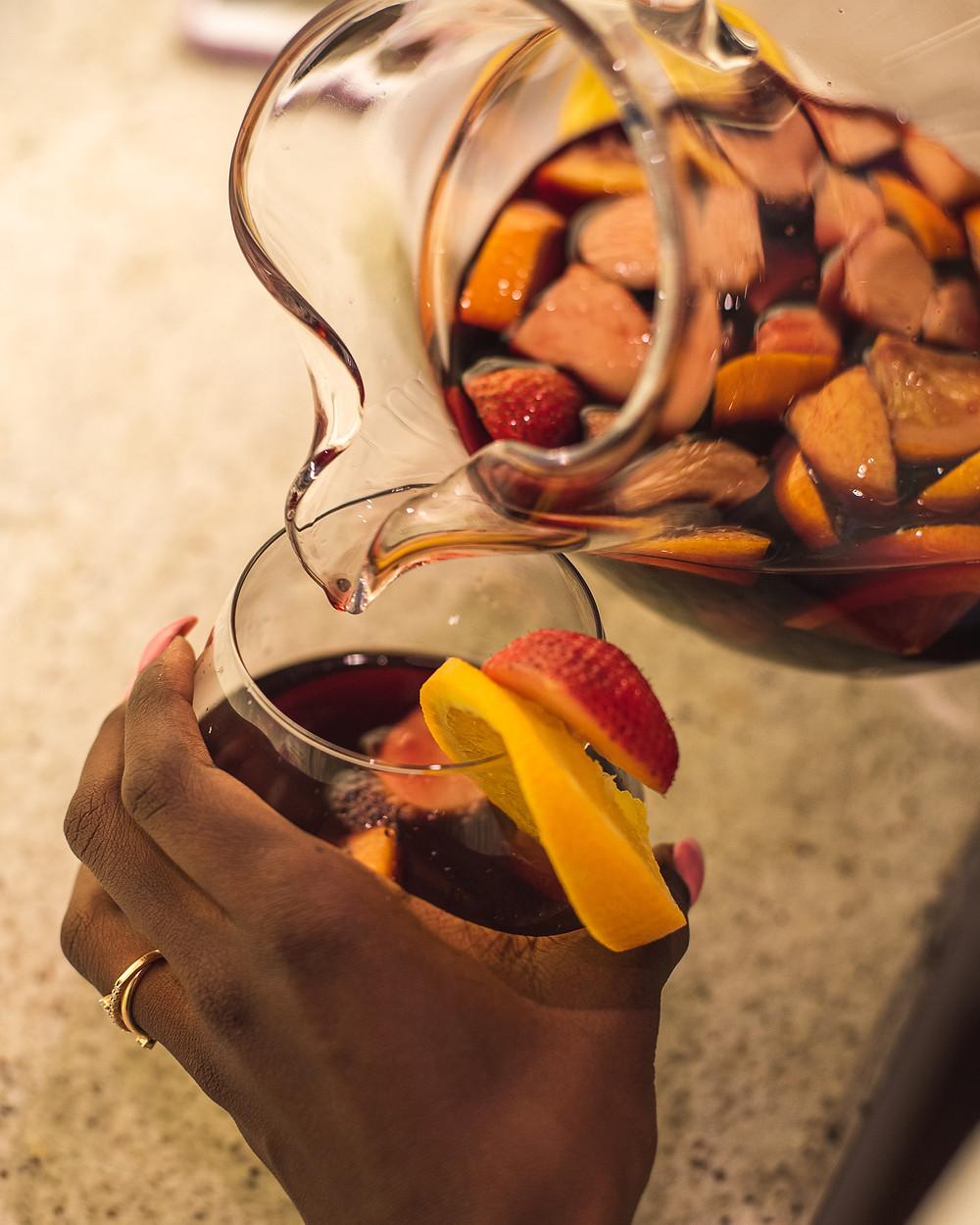 Let's Make A Red Wine Sangria