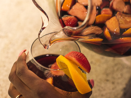 Let's Make A Red Wine Sangria!