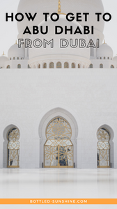How To Get To Abu Dhabi from Dubai