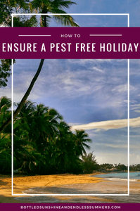 HOW TO ENSURE A PEST FREE HOLIDAY