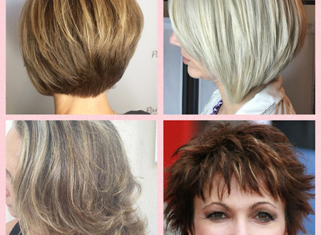 Reflections on hair:  Is there any such thing as age-appropriate hairstyles? Is change really a sign