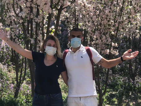 Covering up – it's still mandatory to wear face masks in Beijing (and I like it)