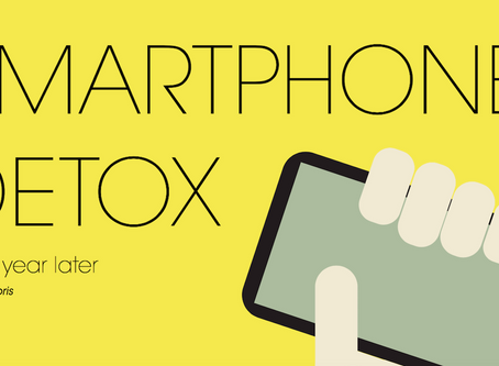 Smartphone detox - one year later