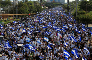 One of the initial demonstrations on 18 April. Photo: Hagamos democracia en Nicaragua