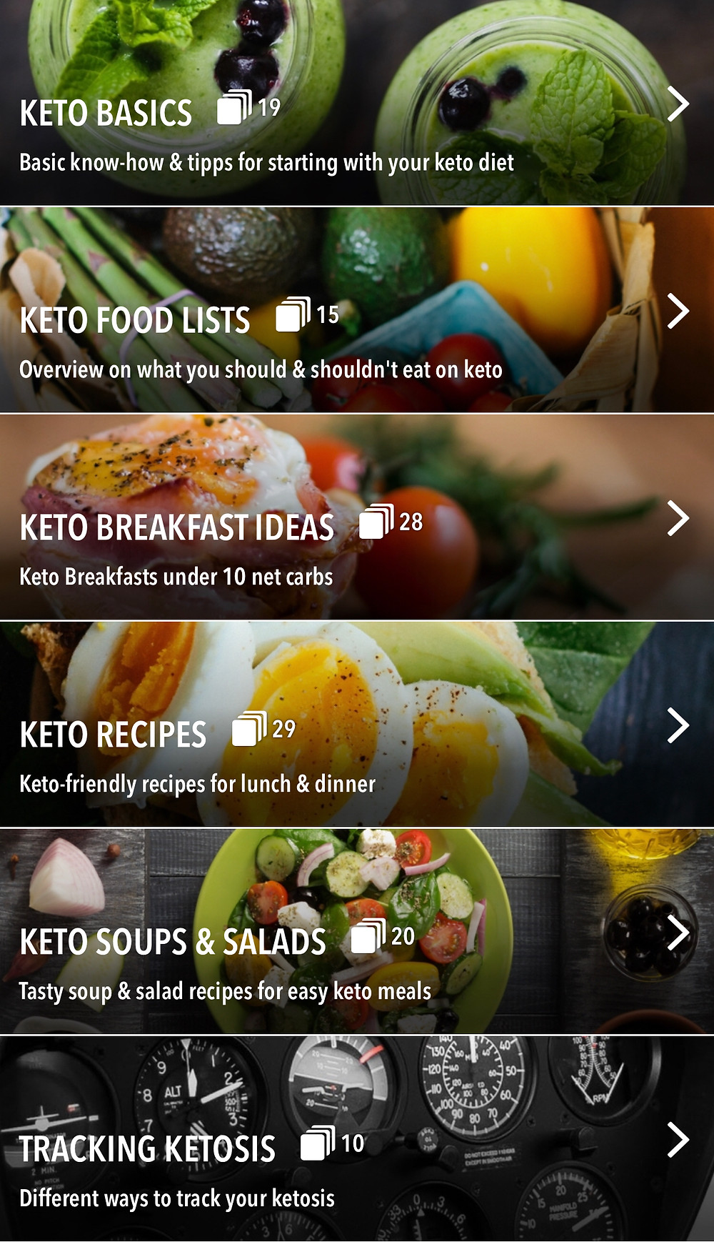 The App called Keto Diet Recipes