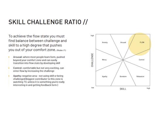 Skill Challenge Ratio - Flow