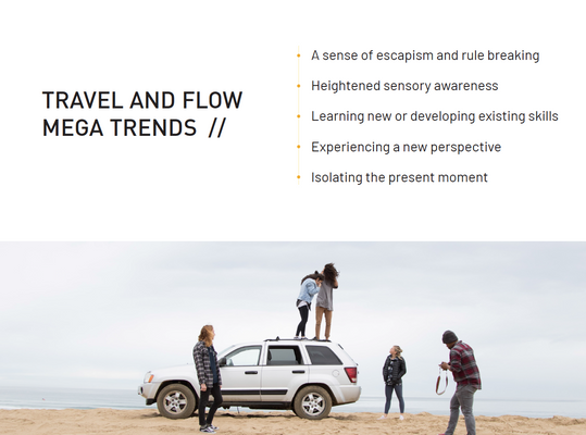 Travel and Flow Mega Trends