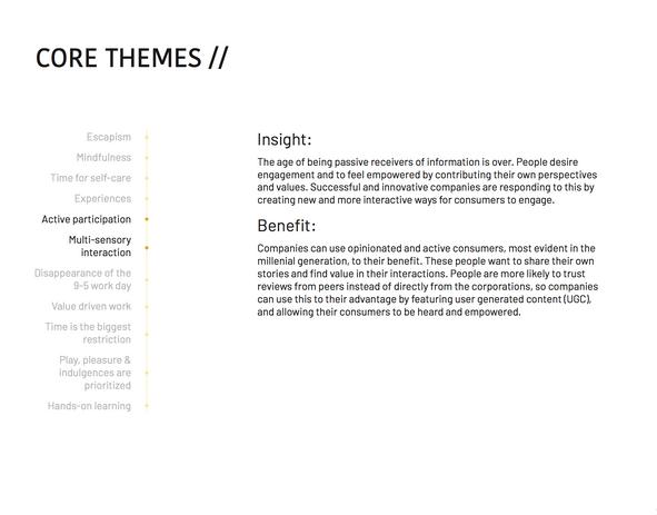Core Theme: Active Participation & Multi-Sensory Interaction
