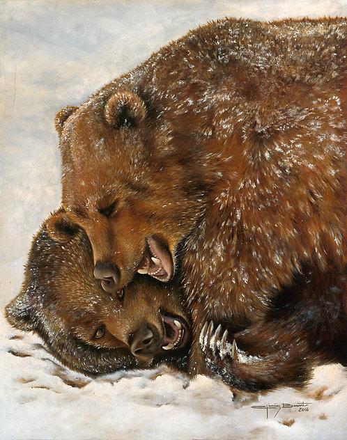 Bears on the Snow