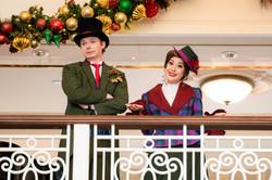Caroling at the Disneyland Hotel