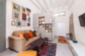 עיצוב הסלון יפו