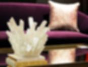 Schoener Sofa and Selenite