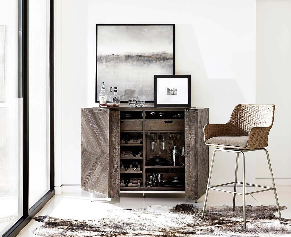 Transitional Office, Secretary Desk, Hideaway Desk, Transitional Storage Cabinet, Off-White Storage Cabinet