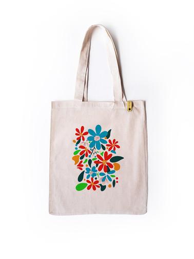 Spring Side Tote Bag