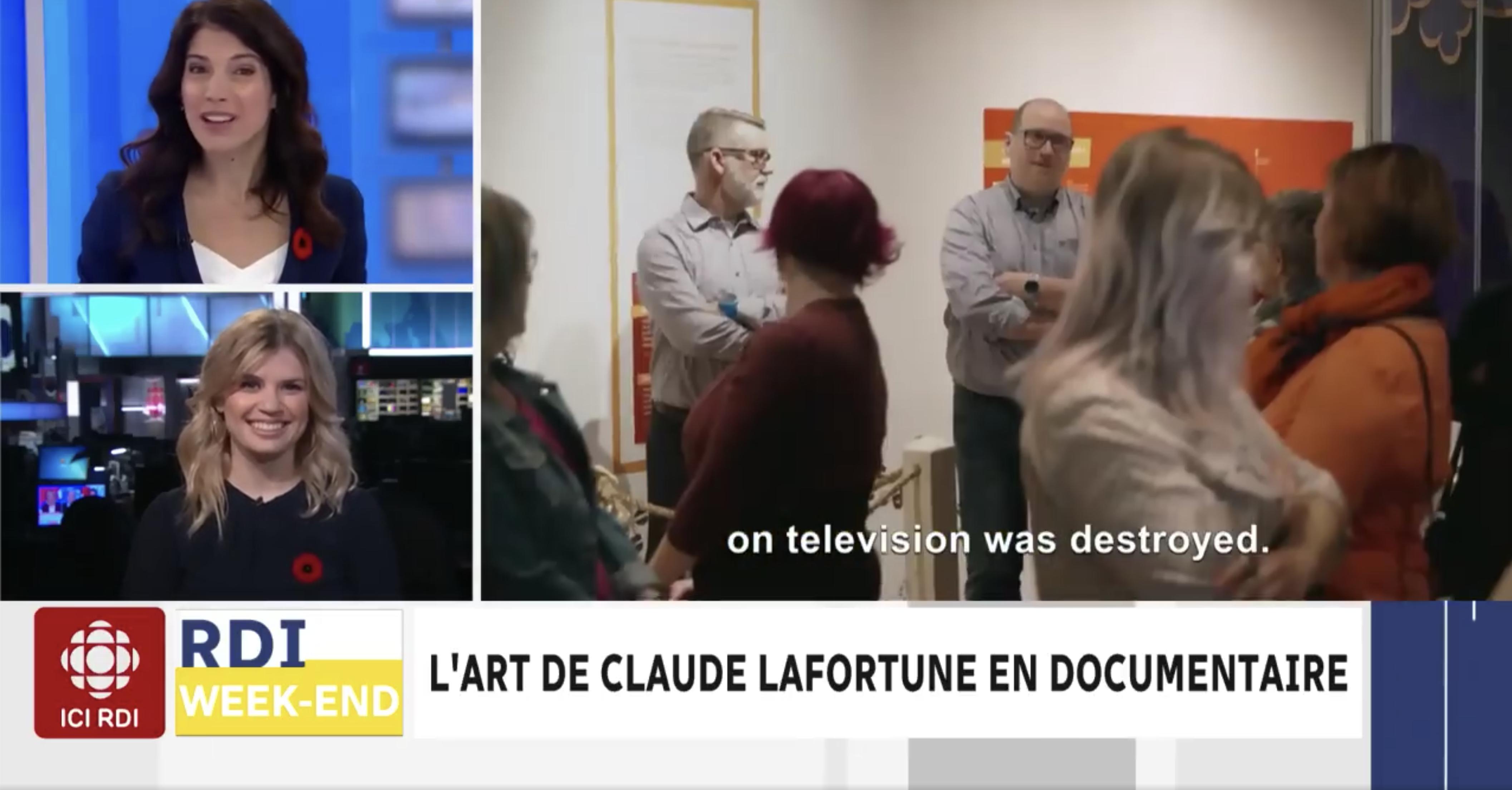 L'art de Claude Lafortune en documentaire
