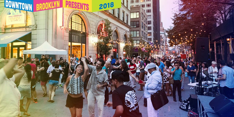 Summer Salsa at Downtown Brooklyn 8/30/18