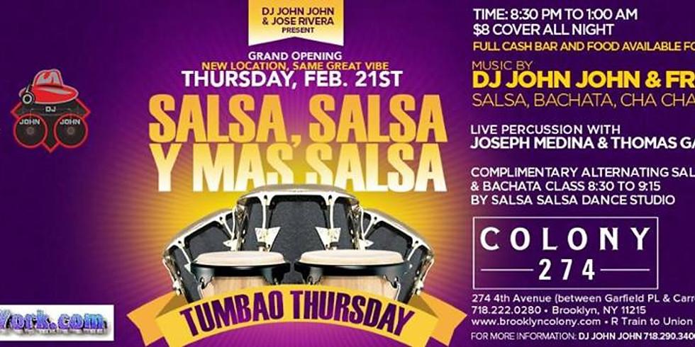 Tumbao Thursday @ Colony 2/21/19