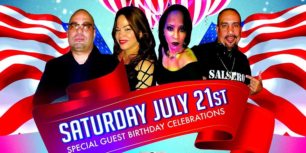 Latin Night at The Hilton 7/21/18