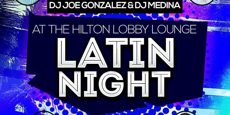 Latin night @ the Hilton