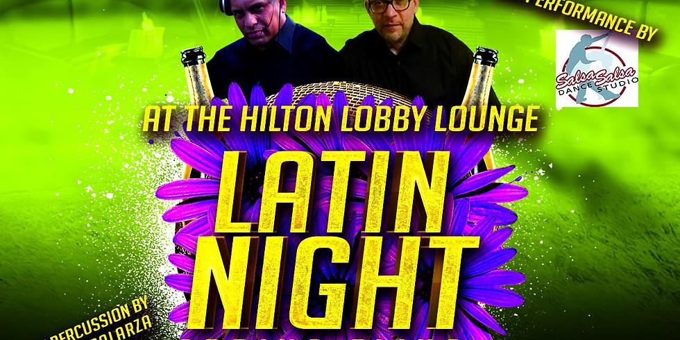Salsa at the Hilton 4/20/19
