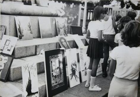 Arte de Rua na Praça
