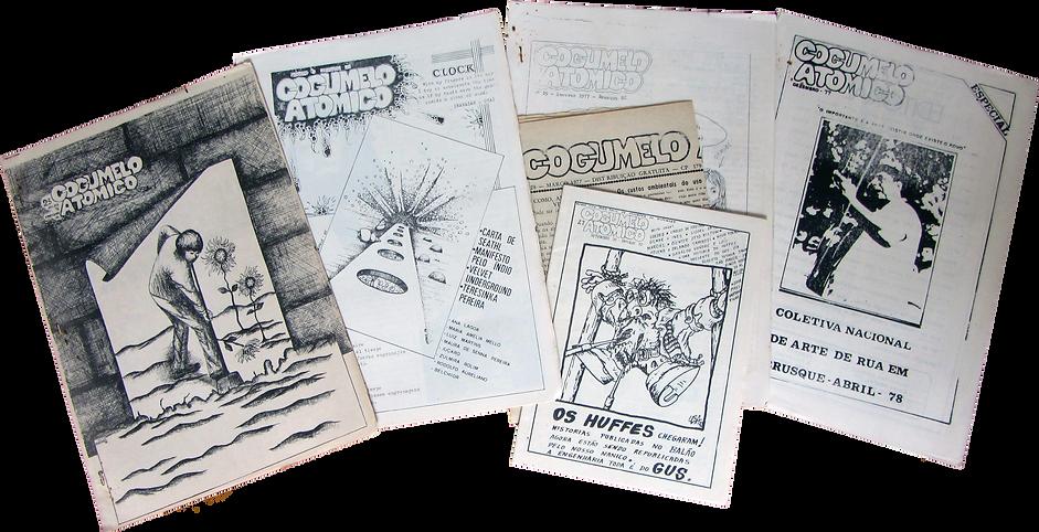 edições jornal cogumelo atômico