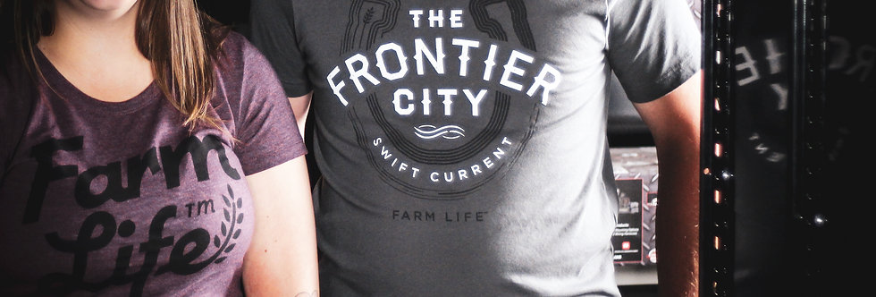 The Frontier City - Gray